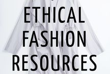 * Sustainable/Ethical fashion *