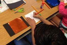 Gustav Klimt Art projects for kids & K-8 students / Gustav Klimt - Curriculum & Art Projects for Kids Art Elements Taught Pattern Art Activity Emphasis Metal Embossing, Decoration Student Art Supplies Foil