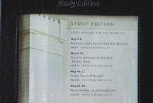 Watchtower Study Holder