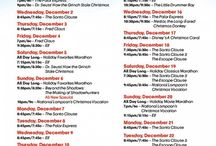 25 Days of Christmas shows