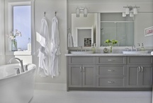 So fresh and so clean, clean! / Ideas for Master and guest bathrooms / by Crystal Gebhardt