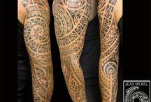 Maori tatoos