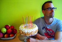 Sweets / birthday cake for my boyfriend