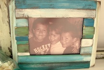 DIY|FRAMES / DIY picture frames ideas and how-to's / by Becka H