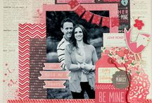Scrapbooking - Love layouts