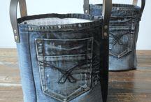 Cesto jeans