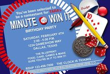 Minute to Win it Party ideas