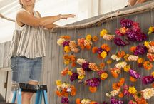 Rustic Wedding Backdrops / Wedding backdrops can help you put your own stamp on our venue.  Take a look!