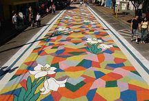 Ephemeral art / Carpets Street and others