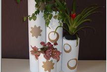 maceteros ecológicos con cartón reciclado