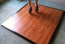 Dance board