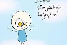 Sjove svenske citater