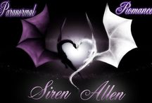 Paranormal Books By Siren Allen / Check out all of my Paranormal Romances.