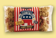 Fun with Politics / Republican and Democratic Pasta!  Limited Editions.  Elephant and Donkey shapes with Party Trivia on Label. / by The Pasta Shoppe