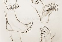 feet and toes