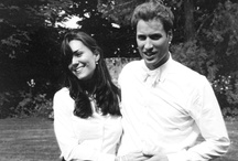 PRINCESS KATE AND PRINCE WILLIAM / by Sandra Bishop Rice