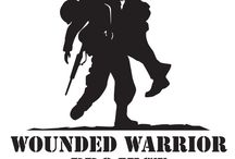 """* We Proudly Support """" The Wounded Warrior Project * / Support our Troops!"""
