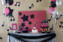N i c k ♥ R o c k s / 16 Year Old Music Themed Birthday Party