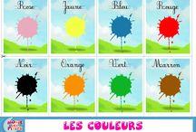 Les couleur