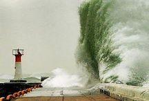 Power of the Ocean Wave.