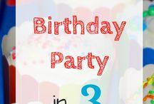 Birthday Party Organization/Hacks / Kid birthday party ideas, party decorations, birthday celebration ideas, birthday printables, birthday party decorations