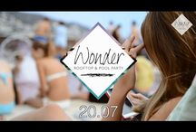 Event Wonder Rooftop & Pool Party (acte 1 - 20.07.2014) / Opening W.O.N.D.E.R Rooftop Pool Party w/ Dj's Gauthier DM, Laurent N. & Envysoul