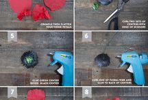 Kvety z hodvábneho papiera