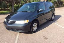 Used 2004 Honda Odyssey for Sale ($5,800) at Clearwater , FL / Make:  Honda, Model:  Odyssey, Year:  2004, Vehicle Condition: Good, Mileage:126,000 mi.    Contact:727-324-9999  Car Id (57138)