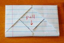 Envelopes ✉ Letter Folding