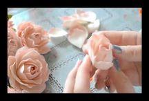 цветы из фоамиана