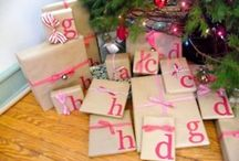 Gift wrapping ideas / by Brianna Shaw