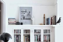Bookcase/ Home Office / Living Room