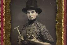 Men, Hats, 1850-1930