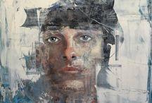Soyut portreler
