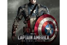 Captain America / Featured are items included in our Captain America Premiere Collection, autographed by the film's stars - Chris Evans, Anthony Mackie, Sebastian Stan, Hayley Atwell and Dominic Cooper!