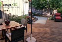 dasso.XTR Denver Colorado Double Grooved Edge 1x6 Fused Bamboo Decking Project