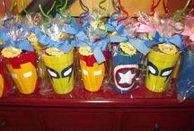 Kids party super hero