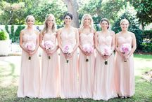 Wedding Party Attire / Bridesmaids Dresses