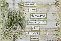 Cards - shabby chic**