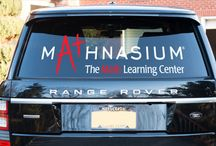Car Decals / Vehicle lettering turns the boring waiting in jams or long hours parking or simply moving vehicles into a business advertising opportunity.