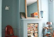 Home Library / How to create a beautiful home wellness library filled with beautiful books.  Stories, plays, poems, novels, writers, readers, quotes and self help books