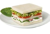 Sándwiches Bimbo / Ideas para hacer sándwiches con Pan Bimbo: http://www.recetasbimbo.com/ / by Bimbo España