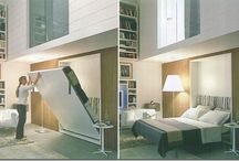 cama embutida na parede