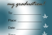 Graduation Invitations  / Celebrate your graduate's big day by sending out these free printable Graduation Invitations. Set the tone of the party with these fully customizeable invitations. Choose from a variety of colors and designs; this particular card is blue autumn. Sift through our large collection of printable invitations. Simply download, customize and print!