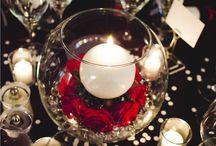 Anais Mariage Cabaret / Recherche inspiration pour décorations d'un mariage sur le thème cabaret !