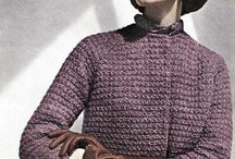 Vintage Knits / Photos of Vintage Knits