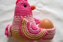 horgolt húsvét