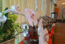 idea for buffet decoration