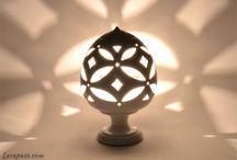 LAMPADE - LIGHT LAMP / Lampade artistiche in ceramica artigianale