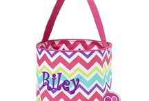 Easter Baskets / Monogrammed & Personalized Easter Baskets & Buckets from Cordial Lee / by Cordial Lee